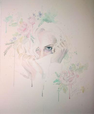 Aquarell auf Papier, 40x50cm