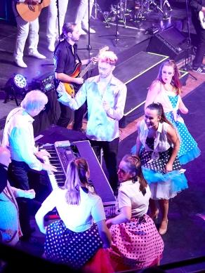 "mit Blue Weaver in ""Massachusetts - Das BEE GEES Musical"" - R&C: Till Nau, C.A: Svitlana Peter"
